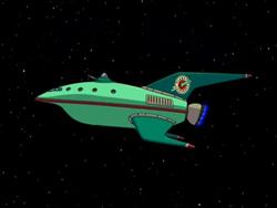 Loď Planet Express